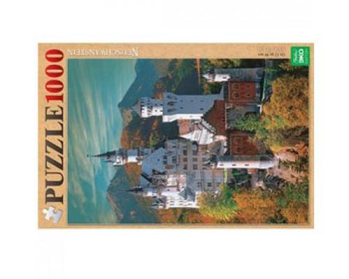 Пазл А2 450х680мм , 1000 элементов, HATBER Замок в горах