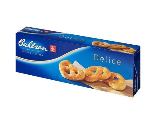 Печенье Bahlsen Delice сухое в форме крендельков, 100 г