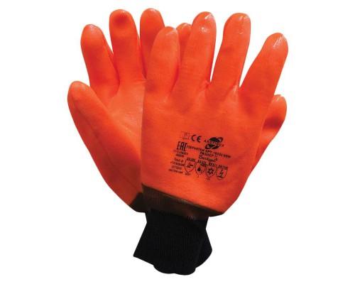 Перчатки Arcticus нефтеморозостойкие ПВХ утепленные р-р 11 манжета резинка 16020SSW