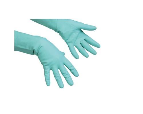 Перчатки латексные повышенной прочности Vileda (размер L)