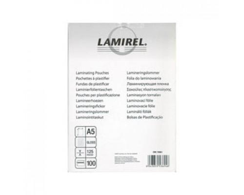 Пленка для ламинатора 65x95мм, 125мкм, LAMIREL, 100шт