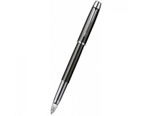 Ручка PARKER 5th Element IM Premium, корпус Deep Grey Gun Metal черный/хром, черный