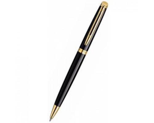 Ручка шариковая WATERMAN Hemisphere Mars Black GT, корпус черный с позолотой, синий