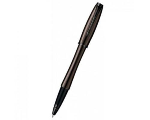 Роллер PARKER Urban Premium, корпус коричневый с глянцевой отделкой, черный