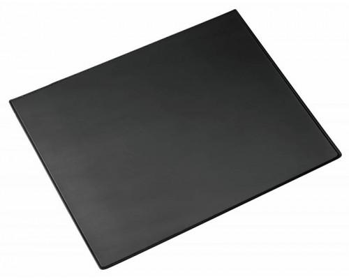 Подкладка для письма 50х65см ALCO, прозрачный верхний лист, черный
