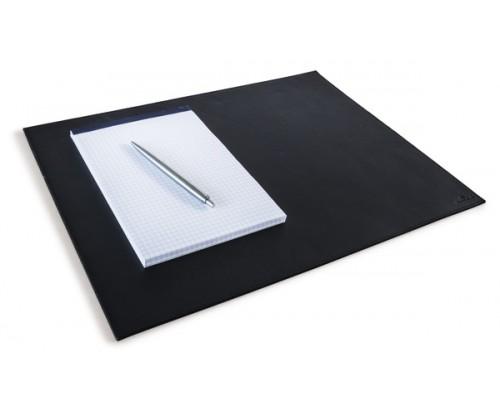 Подкладка для письма 42х30см DURABLE 7304-01, натуральная кожа, черный