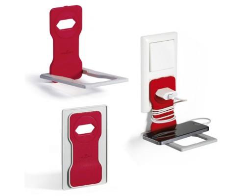 Подставка для мобильного телефона DURABLE Varicolor, красный