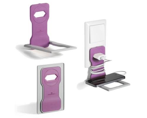 Подставка для мобильного телефона DURABLE Varicolor, бледно-розовый