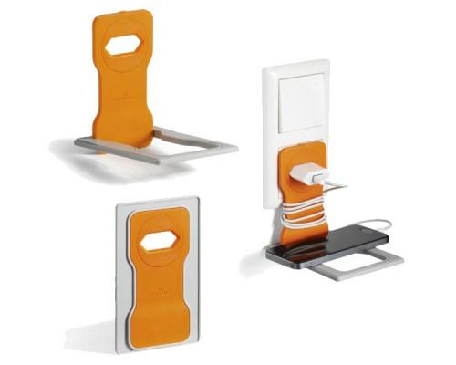 Подставка для мобильного телефона DURABLE Varicolor, оранжевый