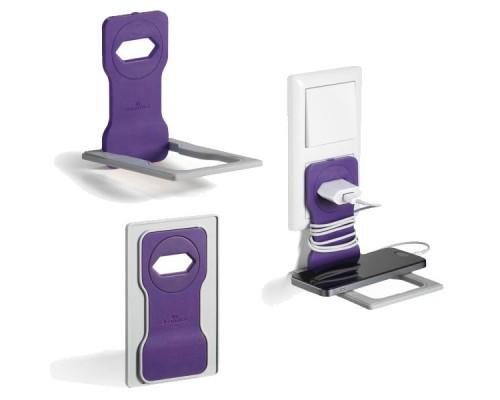 Подставка для мобильного телефона DURABLE Varicolor, светло-фиолетовый