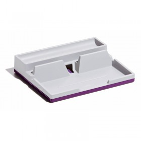Подставка для мелочей настольная DURABLE 7613-12, антискользящая поверхность, фиолетовый