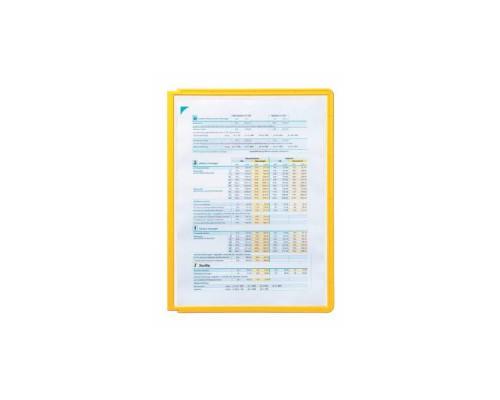 Демо-панель DURABLE 5606-04 для демо-системы, желтый
