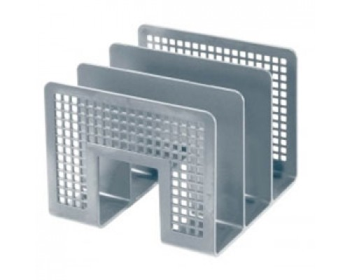 Подставка для бумаг ERICH KRAUSE 10480, 3-секционная, серый
