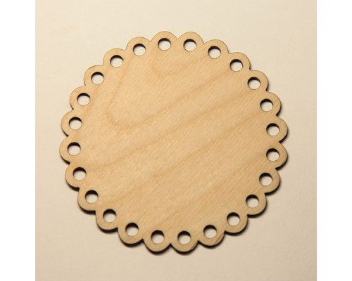 Подставка под кружку круглая, заготовка для декупажа