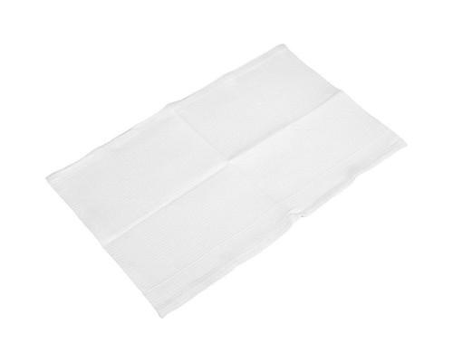 Полотенце вафельное отбеленное 45х100 см, плотность 240 г/м2 ГОСТ, 10 штук в упаковке