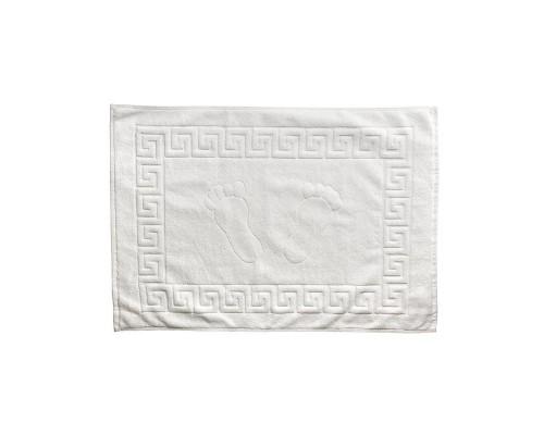Полотенце махровое для ног Luscan 50х70 650гр/м2 белый
