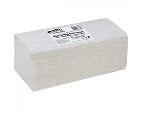 Полотенца бумажные для держателя V-сложение 1-сл., 250л., белый