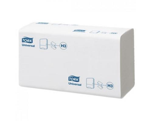 Полотенца бумажные TORK Universal H3 Z-сложение 1-сл., 250л., белый, 20 шт.