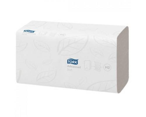 Полотенца бумажные TORK Advanced H2 M-сложение 2х-сл., 136л., белый, 21 шт.
