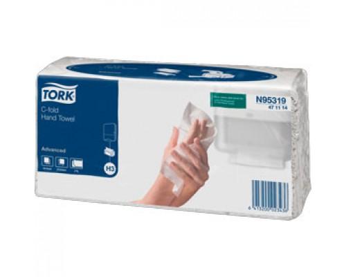 Полотенца бумажные TORK Advanced H3 C-сложение 2х-сл., 120л., ест. белый