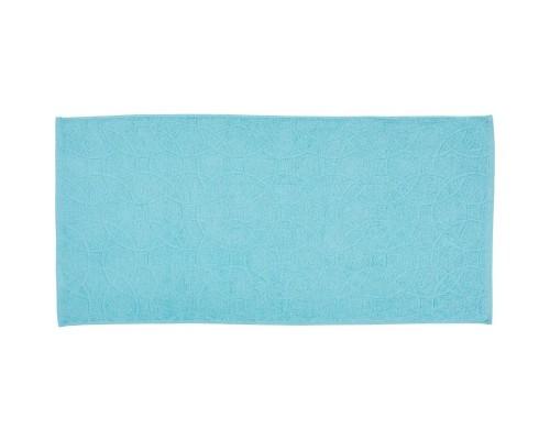 Полотенце махровое жаккард 50х100 430гр/м2 светлая лазурь