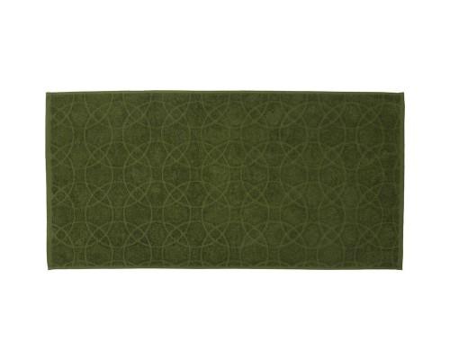 Полотенце махровое жаккард 50х100 430гр/м2 оливковый