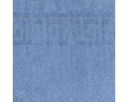 Коврик для ног 50х70 махровый 700гр/м2 голубой 10 штук