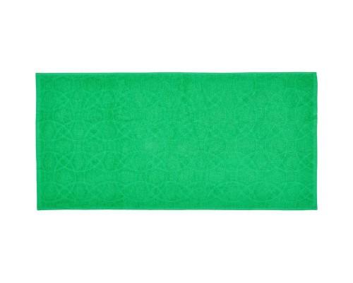 Полотенце махровое жаккард 50х100 430гр/м2 морской зеленый