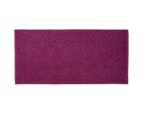 Полотенце махровое жаккард 50х100 430гр/м2 лиловый