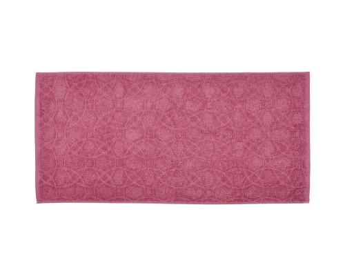 Полотенце махровое жаккард 50х100 430гр/м2 дымчатая роза