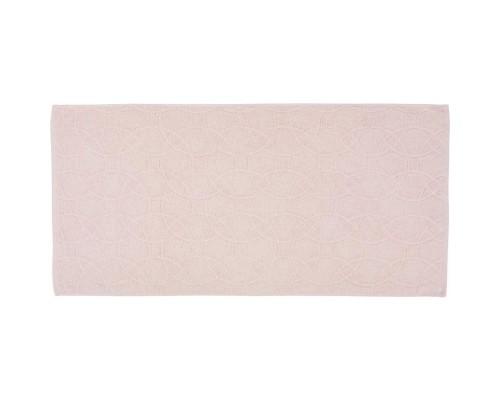 Полотенце махровое жаккард 50х100 430гр/м2 бледно-розовый