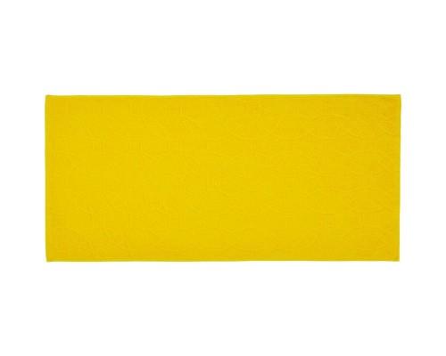 Полотенце махровое жаккард 50х100 430гр/м2 средний жёлтый