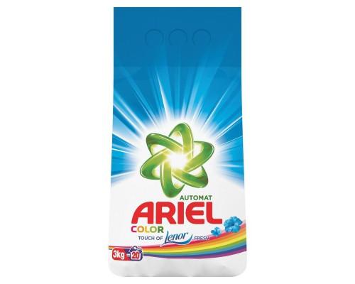 Порошок стиральный Ariel Color автомат для цветного белья 3 кг