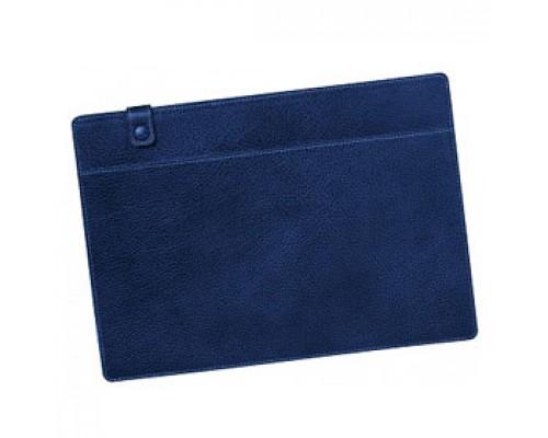 Папка для документов HMG Craft, 310х220мм, кожзам, синий