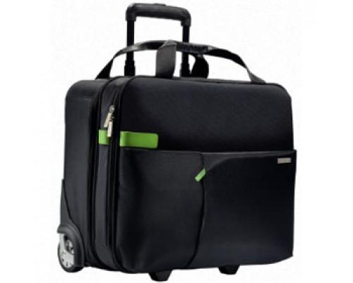 Портфель на колесиках LEITZ Complete Smart Traveller, черный
