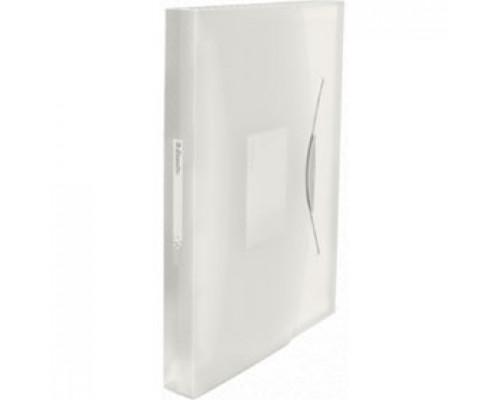 Папка картотека на резин. ESSELTE Vivida, 12 отделений, пластик, белый