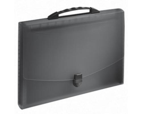 Папка-портфель ESSELTE Vivida, 12 отделений с ручкой, черный