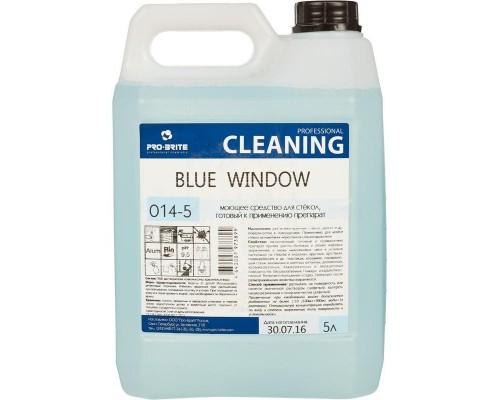 Профессиональное моющее средство для стекол Pro-Brite Blue Window 5 лов (готовый к применению препарат)
