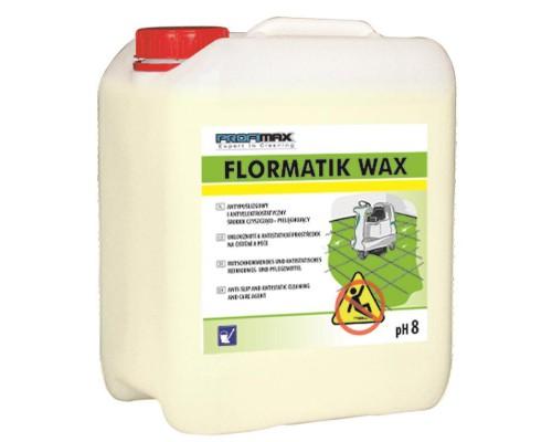 Профессиональное непенное средство для мытья всех видов водостойких поверхностей Lakma Profimax Flormatik wax 5 л