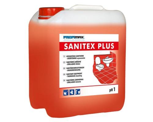 Профессиональное кислотное средство для интенсивной чистки сантехники Lakma Profimax Sanitex Plus 5 лов