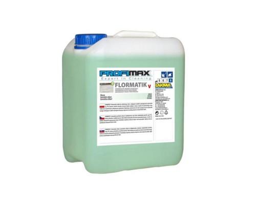 Профессиональное непенное средство для мытья всех видов водостойких поверхностей Lakma Profimax Flormatik V 5 л