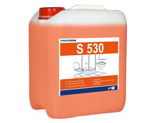 Профессиональное кислотное средство для чистки санитарных помещений Lakma Profimax Profibasic S 530 5 лов
