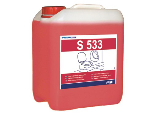 Профессиональное кислотное средство для удаления ржавчины и известковых отложений Lakma Profibasic S 533 5 лов