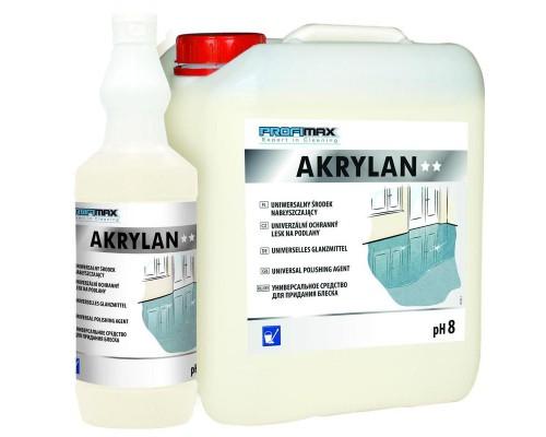 Профессиональное средство для полировки полов с антистатическим эффектом Lakma Profimax Akrylan 1 л