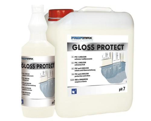 Профессиональное чистящее средство для мытья линолеума и полов из ПВХ Lakma Profimax Gloss Protect 5 л
