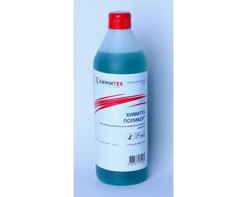Профессиональное кислотное средство для мытья кафельных и керамических поверхностей Химитек Поликор 1 л