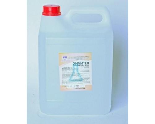 Профессиональное нейтральное моющее средство для экспресс-уборки Химитек Интерьер-Офис 5 лов