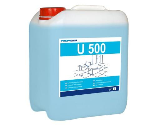Профессиональное нейтральное моющее средство для водостойких поверхностей Lakma Profibasic U 500 5 лов