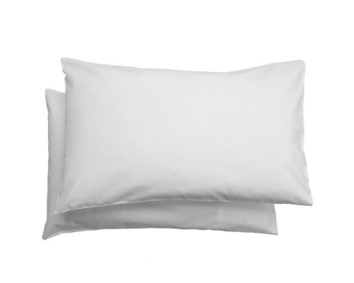 Наволочка 50х70 см перкаль белая (120 г/кв.м, 10 штук в упаковке)