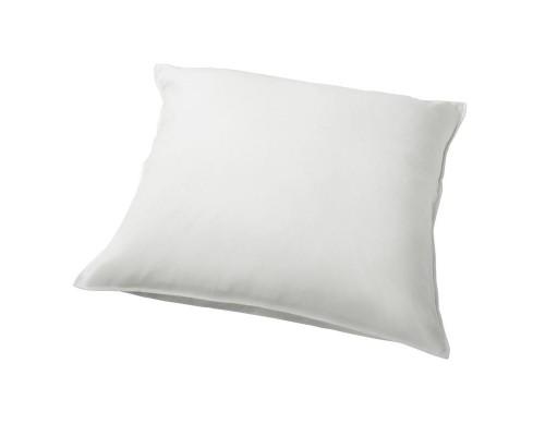 Наволочка 70х70 см сатин белая (140 г/кв.м, 10 штук в упаковке)